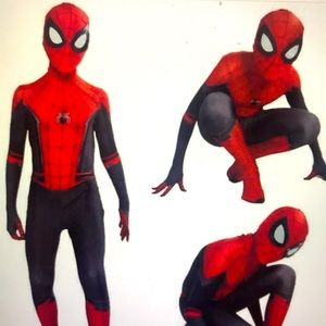 New Disney Spiderman Superhero Costume size 5/6